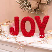Go to Product: Red Heart JOYful Sparkle Letters in color