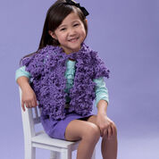 Go to Product: Red Heart Child's Diva Vest, S in color