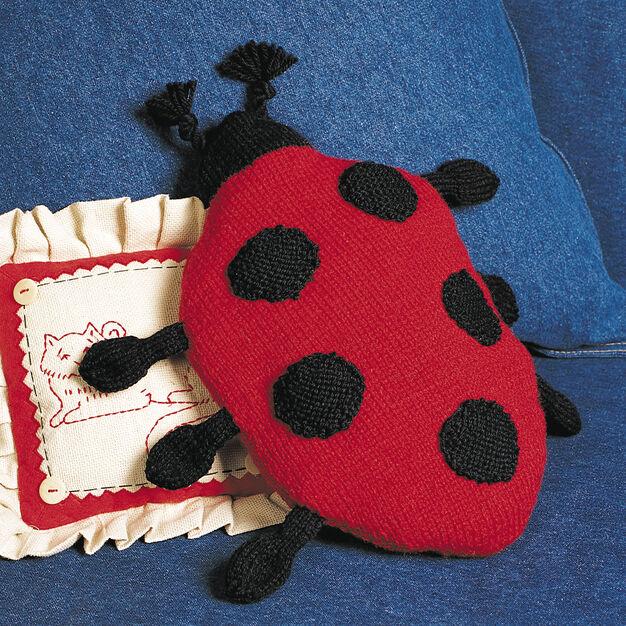Patons Ladybug Pillow