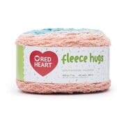 Go to Product: Red Heart Fleece Hugs Yarn in color Mermaid