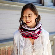 Go to Product: Red Heart Roulette Chic Cowl in color