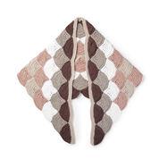 Caron x Pantone Crochet Wavy Wrap