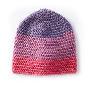 Caron Cakes Slouchy Crochet Beanie