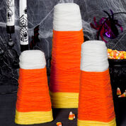 Go to Product: Red Heart Candy Corn Wrapped Cones, S in color
