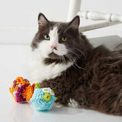 Go to Product: Lily Sugar'n Cream Puffy & Stuffy Cat Toys, Puffy in color