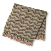 Go to Product: Bernat Mossy Mountains & Valleys Crochet Blanket in color