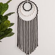 Go to Product: Bernat Striped Rings Macrame Wall Hanging in color