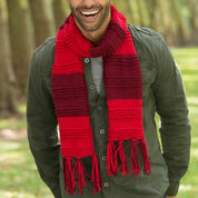 Red Heart Gender Neutral Scarf