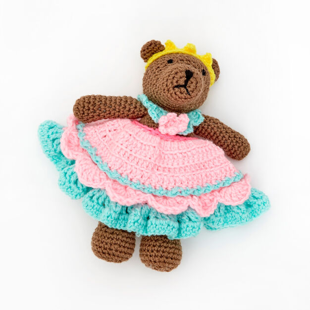 Red Heart Princess Bear Play Set