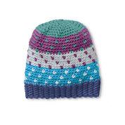 Caron x Pantone Crochet Fair Isle Hat