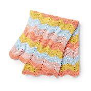 Go to Product: Bernat Zig & Zag Crochet Baby Blanket in color