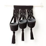 Bernat Crochet Hanging Plant Trio