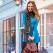 Go to Product: Red Heart Granny's Jewel Scarf in color