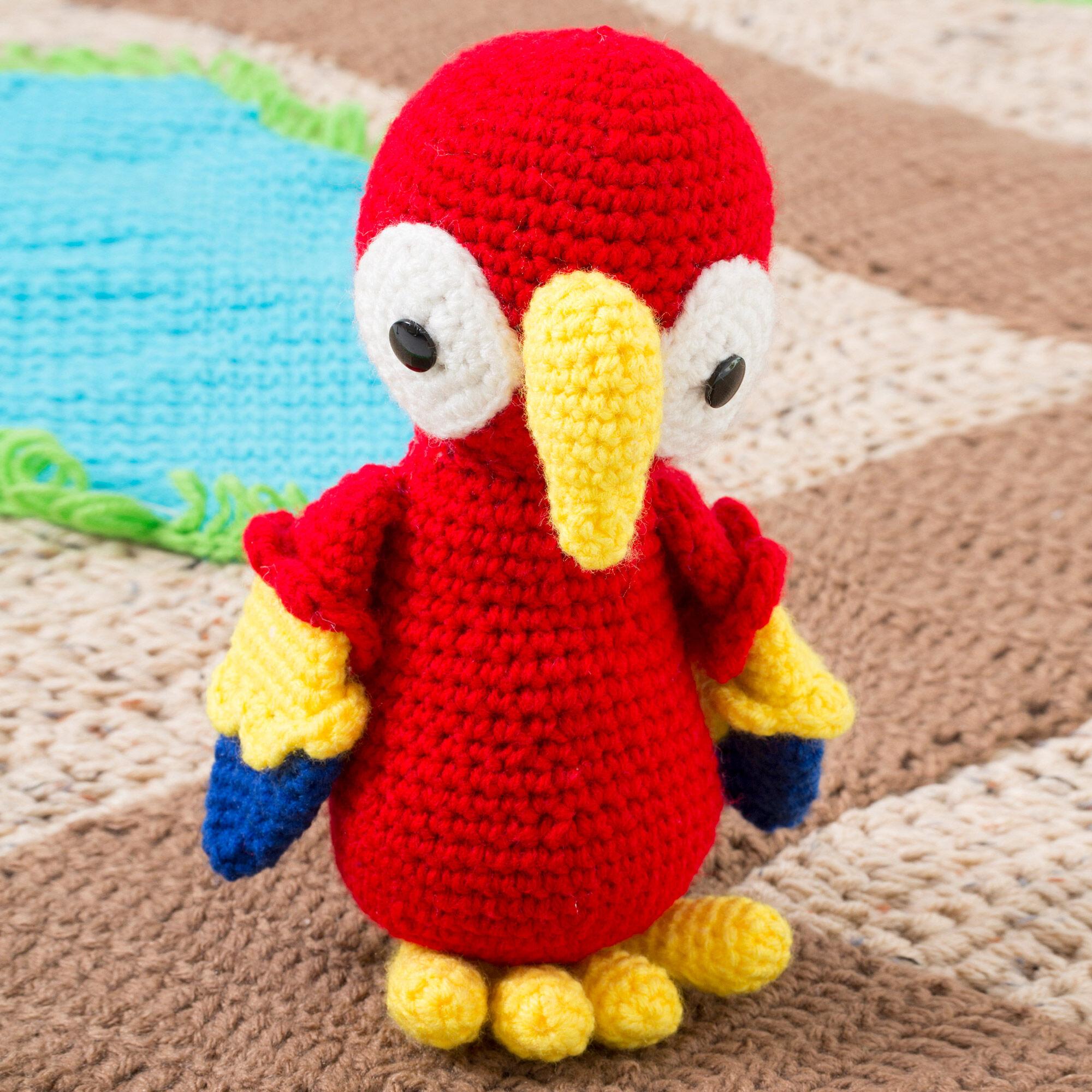 Crochet Parrot DIY Pattern for Bird Tutorial PDF Instruction ...   2000x2000