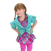 Red Heart Sassy Girl's Shrug, 2 yrs