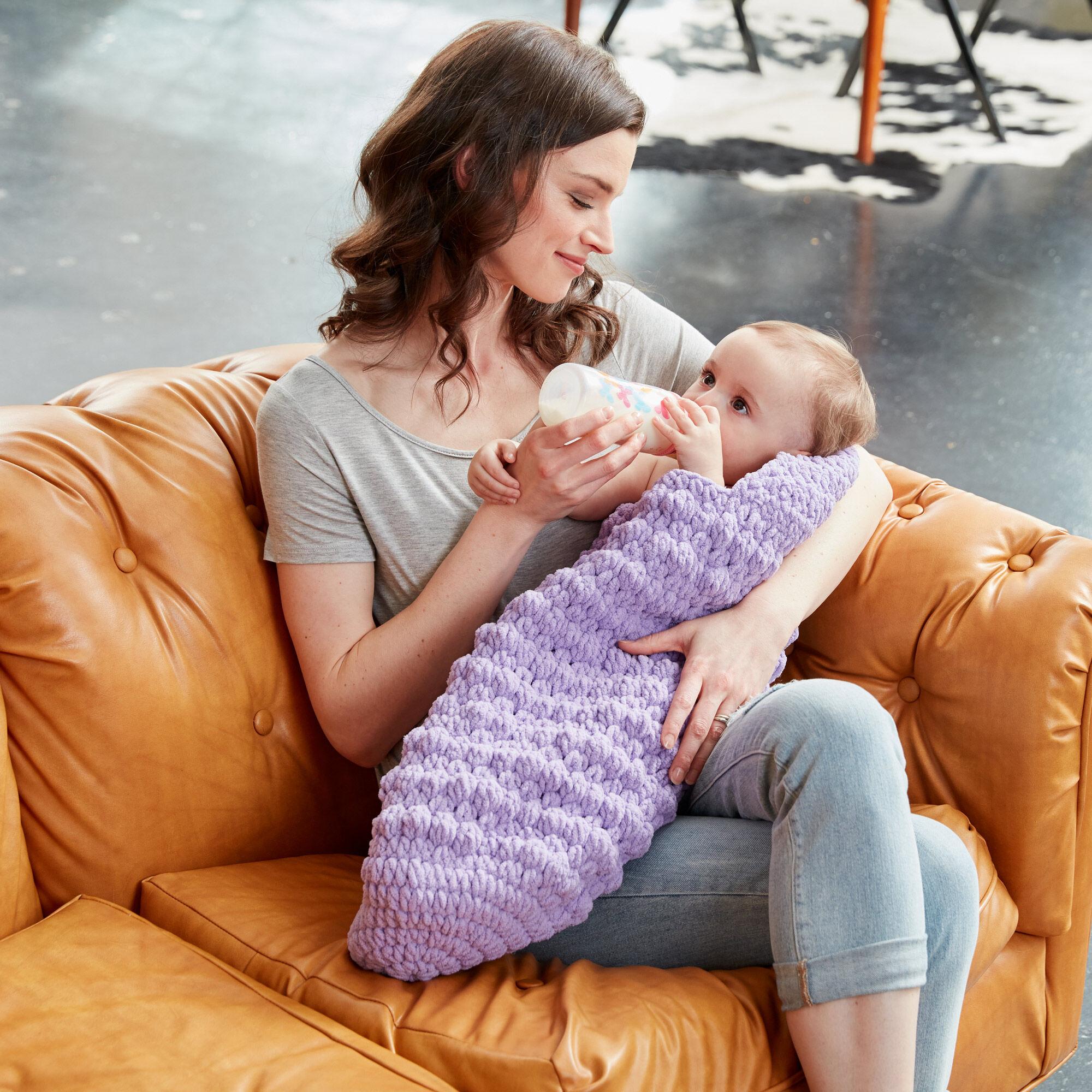 Bernat Crochet Baby Cocoon Pattern Yarnspirations