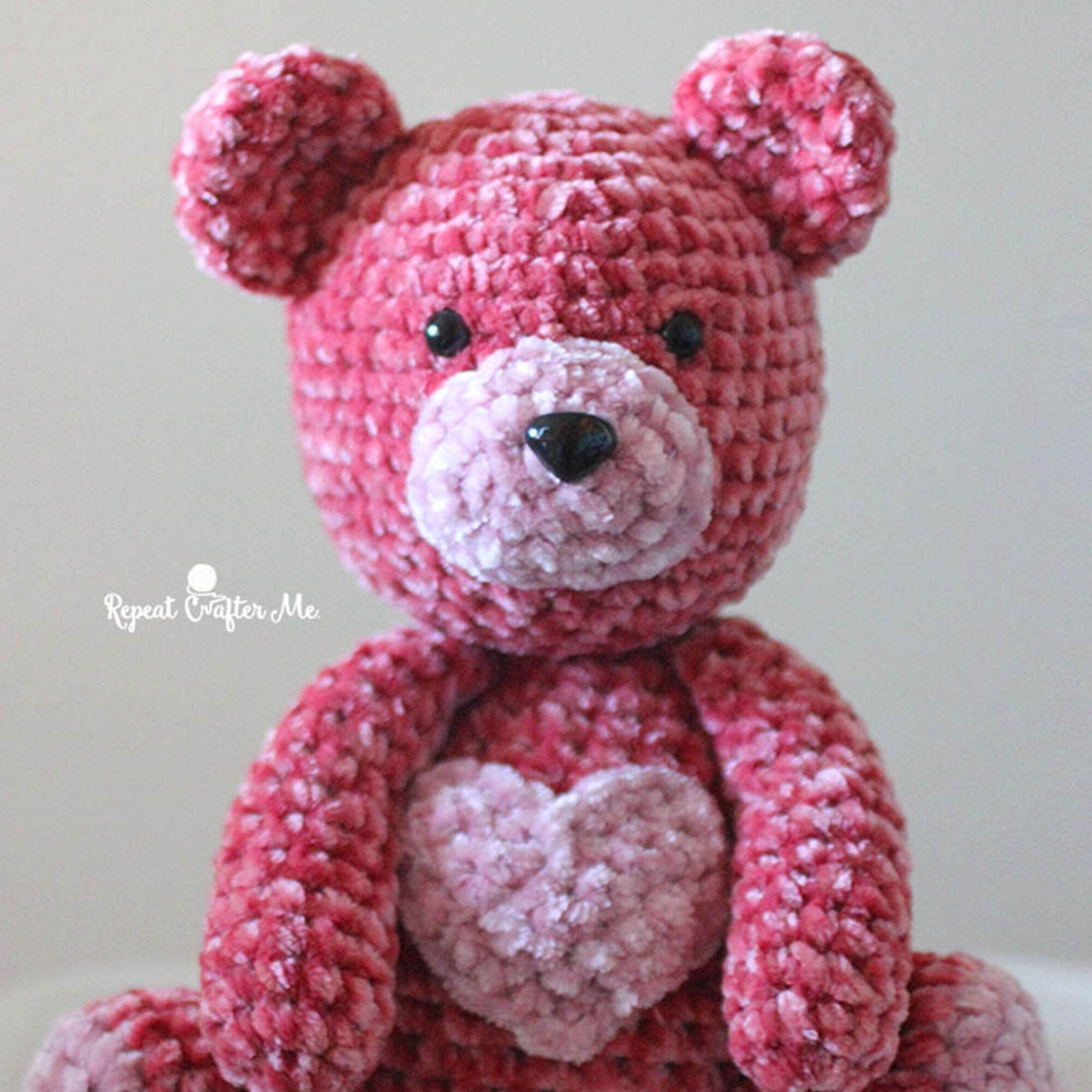 Amigurumi Valentine Teddy Bear Part One - YouTube | 2000x2000