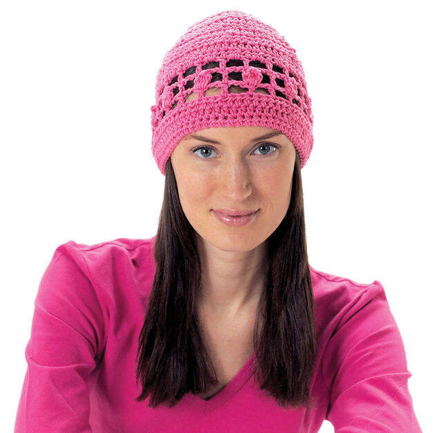 Lily Sugar N Cream Ladys Skull Hat Solid Color Pattern