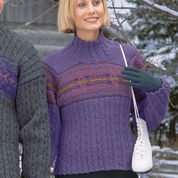 Go to Product: Patons Ladies Cable & Snowflake, S in color
