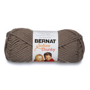 Go to Product: Bernat Softee Chunky Yarn (100g/3.5oz) in color Taupe Gray