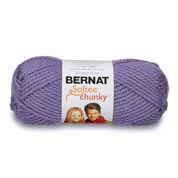 Go to Product: Bernat Softee Chunky Yarn (100g/3.5oz) in color Lavender