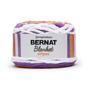 Go to Product: Bernat Blanket Stripes Yarn (300g/10.5 oz), Popsicle - Clearance Shades* in color Popsicle