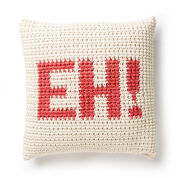 Bernat Croch-Eh Throw Pillow