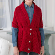 Go to Product: Red Heart Red Heart Cares Vintage Crochet Sweater in color