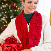 Go to Product: Red Heart Diamond Cables Cowl in color