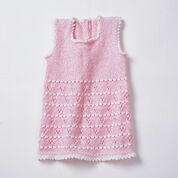 Bernat Party Girl Set, Dress - 6 months