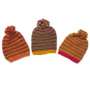 Go to Product: Patons Change Your Stripes Hat, Version 1 in color