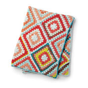 Bernat Random Granny Crochet Afghan