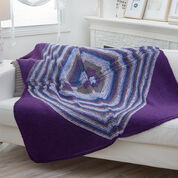 Go to Product: Red Heart Four-Square Diagonal Throw in color
