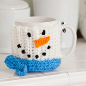 Red Heart Snowman Mug Hug