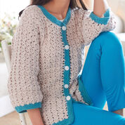 Go to Product: Bernat Cluster Stitch Cardigan, XS/S in color