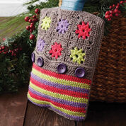 Patons Color Wheel Hot Water Bottle Cozy