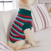 Red Heart Stylish Knit Dog Sweater, XS