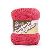 Go to Product: Lily Sugar'n Cream Super Size Yarn in color Pretty in Pink