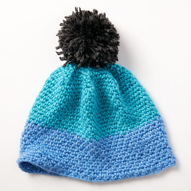 Caron Color Dipper Hat in color
