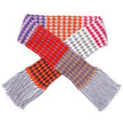 Caron x Pantone Knit Stripe Scarf
