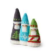 Go to Product: Red Heart Fair Isle Santas in color