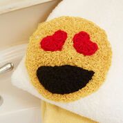 Go to Product: Red Heart Happy Face Scrubby Emoticons in color