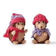 Go to Product: Red Heart Crochet Hedgehogs in color