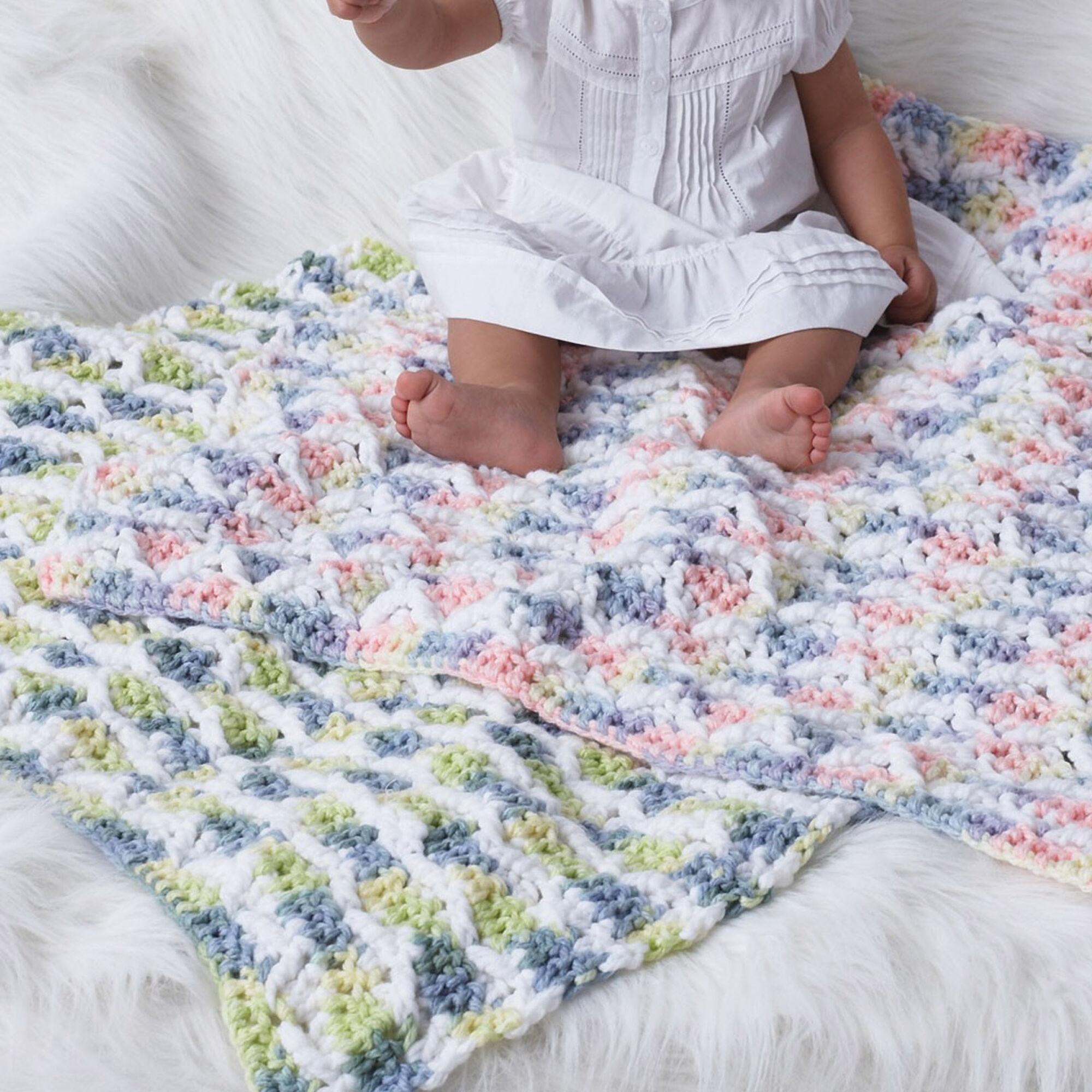 Bernat Baby Blanket Version 1 Yarnspirations