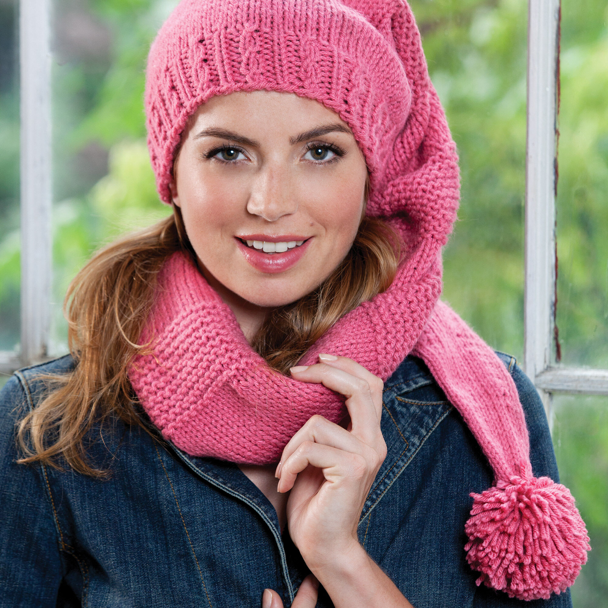 Caron Scarf Hat | Yarnspirations