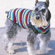 Bernat Crochet Dog Coat, S
