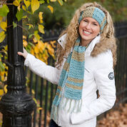 Go to Product: Red Heart Warm & Shine Scarf & Headband in color
