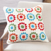 Red Heart Copenhagen Pillow