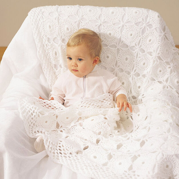 Bernat Baby Blanket in color