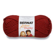 Go to Product: Bernat Softee Chunky Yarn (100g/3.5oz) in color Redwood